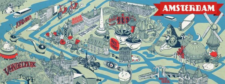 Hallo, Amsterdam! by Elyse Salazar